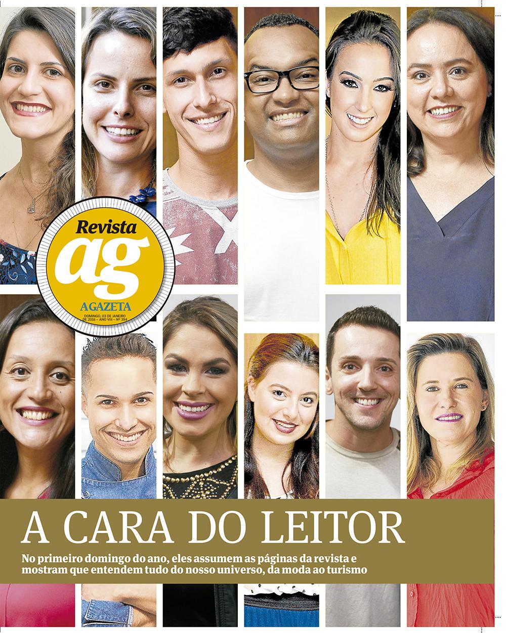 Revista AG - A cara do leitor.